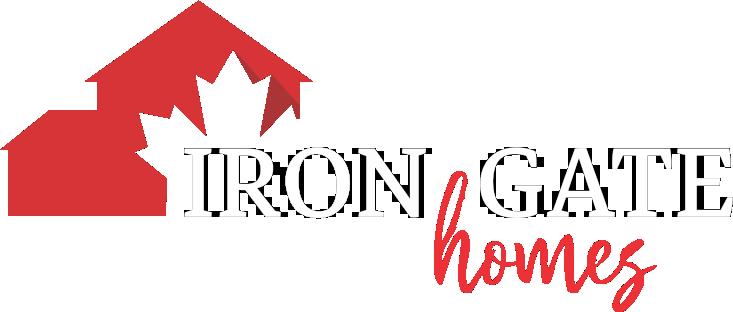 Iron Gate Logo white letters